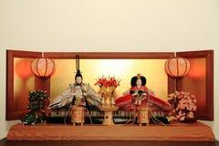 Hina Ningyou (dolls) Royalty Free Stock Photos