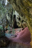 Hinagdanan cave in Panglao. Stock Photo