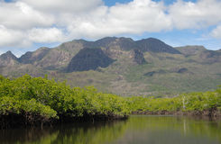 Hinchinbrook Island. Is Australia's largest Island National Park and is situated off the coast of Cardwell in northern Queensland. It's a haven for Stock Image