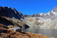 Hincovo pleso,高Tatras,斯洛伐克 库存图片