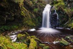 Hindhope vattenfall Arkivbild