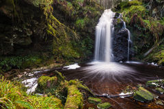 Hindhope Waterfall Stock Photography