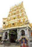Hindi Świątynny dzwi wejściowy Zdjęcia Royalty Free