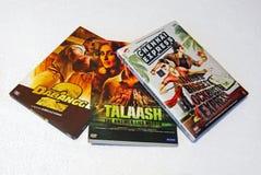 Hindi film DVD obraz stock