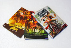 Hindi Movie DVD image stock