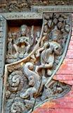 Hindi temple, Gokarna Mahadev, Nepal Stock Photos