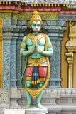 Hindische grüne Gott-Statue stockbilder