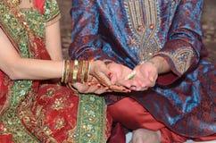 Hindische religiöse Feier Lizenzfreie Stockfotos
