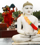 Hindische Statuen Stockfotografie