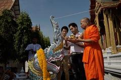Hindische Zeremonie des Naga in Thailand lizenzfreies stockfoto