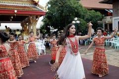 Hindische Zeremonie des Naga in Thailand stockbild