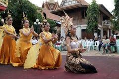 Hindische Zeremonie des Naga in Thailand stockbilder