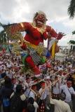 Hindische Zeremonie in Surabaya lizenzfreies stockfoto
