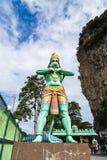 Hindischer Gott Batu Hanuman-Statue höhlt Kuala Lumpur Malaysia aus Lizenzfreies Stockbild