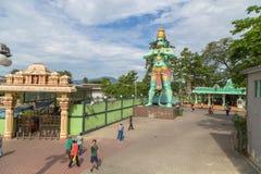 Hindischer Gott Batu Hanuman-Statue höhlt Kuala Lumpur Malaysia aus Stockbild
