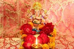 Hindischer Gott Ganesh lizenzfreie stockfotografie