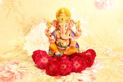 Hindischer Gott Ganesh stockfoto