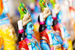 Hindischer Gott Lord Krishna lizenzfreies stockfoto