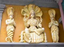Hindischer Gott Pantanjali stockfoto