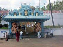 Hindischer Tempel bei Horanadu, Karnataka, Indien Lizenzfreie Stockbilder