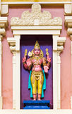 Hindischer Tempel bei Kuala Lumpur Malaysia lizenzfreies stockfoto