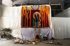 Hindischer Tempel in Chittagong, Bangladesch lizenzfreie stockfotografie