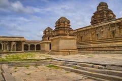 Hindischer Tempel, Hampi, Karnataka-Staat, Indien Stockbild