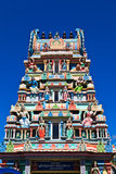 Hindischer Tempel in Mauritius Stockfotos