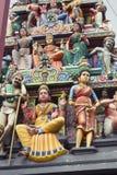 Hindischer Tempel, Singapur Lizenzfreies Stockbild