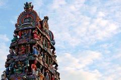 Hindischer Tempel Sri Mariamman von Singapur Lizenzfreie Stockfotografie
