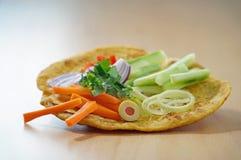 Hindisches Lebensmittel Stockfoto