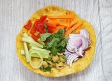 Hindisches Lebensmittel Stockbild