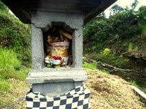 Hindoes Altaar in Bali Stock Afbeelding