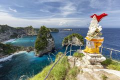 Hindoes Balinees heiligdom stock afbeelding