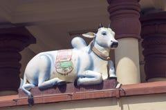 Hindoes Beeldhouwwerk Stock Afbeeldingen