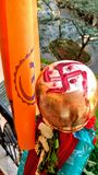 Hindoes festival van nieuw jaar Stock Foto's