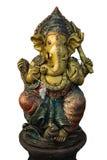 Hindoes Ganesha-beeldhouwwerk Stock Afbeelding