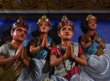 Hindoes godsstandbeeld Stock Afbeelding