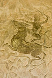 Hindoes het berijden van de God Paard in slag Royalty-vrije Stock Fotografie