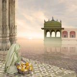 Hindoes ritueel Royalty-vrije Stock Afbeeldingen