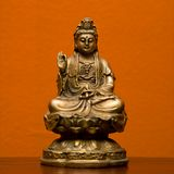 Hindoes standbeeld. Stock Afbeelding