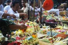 Hindoese ceremonie royalty-vrije stock foto's