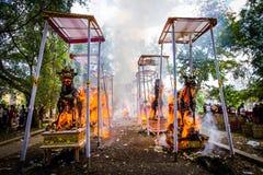 Hindoese ceremonie Stock Fotografie