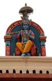 Hindoese deity bij de Tempel van Sri Mariamman in Singapore Stock Afbeeldingen