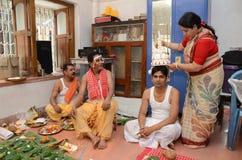 Hindoese familie Royalty-vrije Stock Fotografie