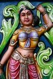 Hindoese God - de Tempel van Sri Srinivasa, Singapore Stock Afbeelding