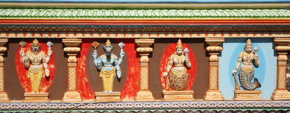 Hindoese Goden Stock Afbeeldingen