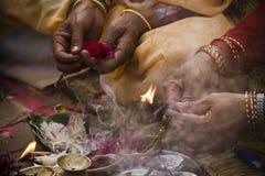 Hindoese godsdienstige ceremonie ter gelegenheid van Shivaratri, Nepal royalty-vrije stock foto's