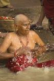 Hindoese Pelgrim stock foto