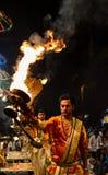 Hindoese Priester Royalty-vrije Stock Fotografie